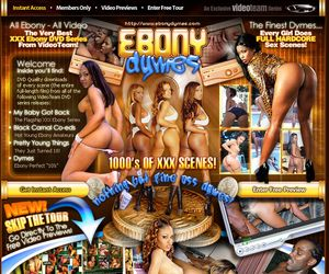 Ebony Dymes - The Very Best XXX Ebony DVD Series From VideoTeam!